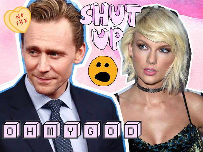 Tom Hiddleston is done talking about Taylor Swift