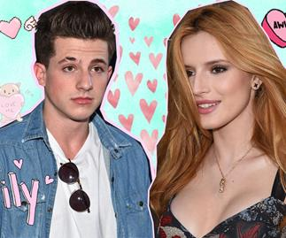 Charlie Puth's thirsty for Bella Thorne