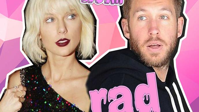 Calvin Harris and Taylor Swift have been texting