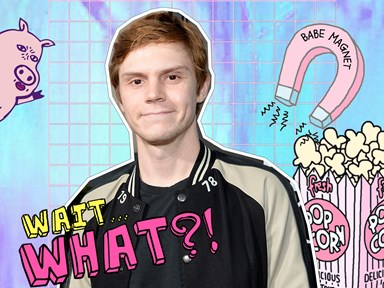 Has Evan Peters already leaked his 'American Horror Story' character?