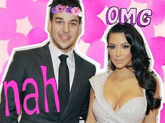 Rob Kardashian admits Kim Kardashian was his crush