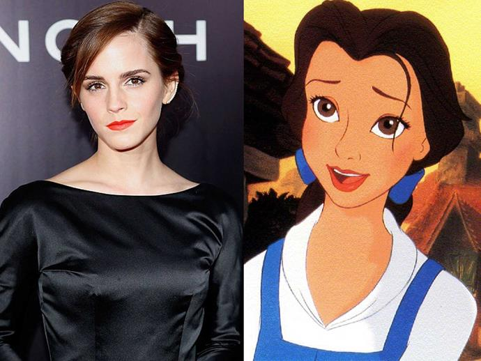 First look Emma Watson singing as Belle