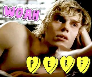 American Horror Story: Evan Peters talks about Mr March