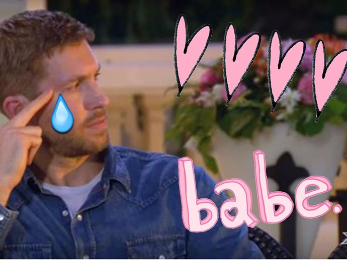 Watch Calvin Harris cry on the X Factor