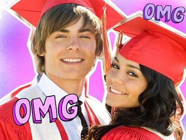 Zac Efron had THE High School Musical reunion of your ~dreams~