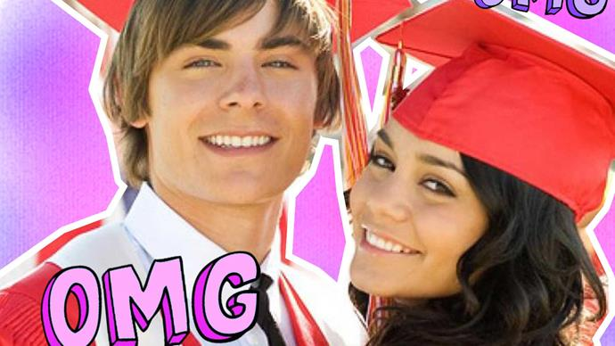 Zac Efron has a high school musical reunion