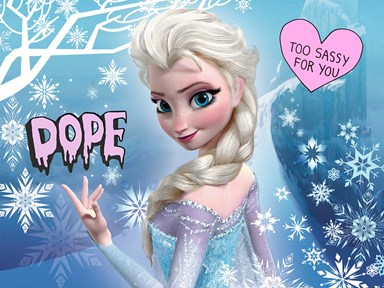 Elsa from 'Frozen' just picked herself a Disney girlfriend and we #SHIP!