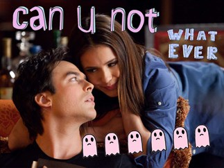 Ian Somerhalder doesn't ship him and Elena in TVD