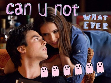 Ian Somerhalder just destroyed all hope for #Delena getting back together on 'TVD'