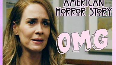 Turns out one of the characters in 'American Horror Story: Roanoke' is an IRL person