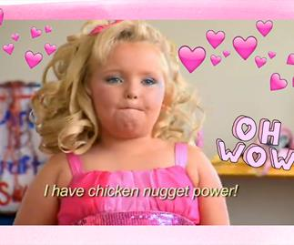 Honey Boo Boo does NOT look like this anymore!