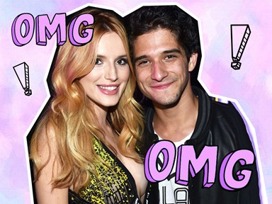 Bella Thorne just posted a *very* steamy pic with Tyler Posey