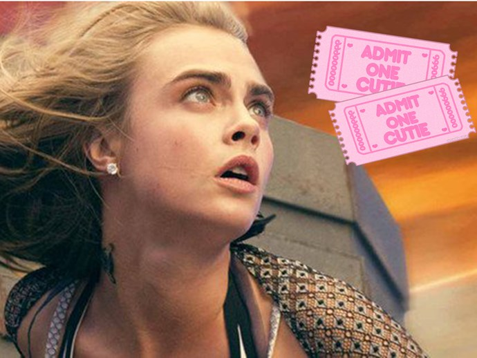 Cara Delevingne is an intergalactic, crime-fighting kween in the new posters for 'Valerian'