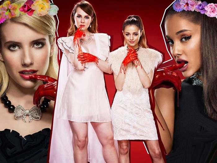 We dressed like The Chanels from Scream Queens for a week and here's what happened