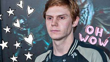Evan Peters' first red carpet photos are the cutest damn thing you've ever seen