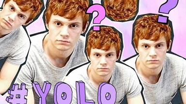 Break open the BBQ Shapes! Evan Peters will be on tonight's episode of 'American Horror Story'!!