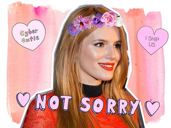 Bella Thorne admits she has a crush on Demi Lovato