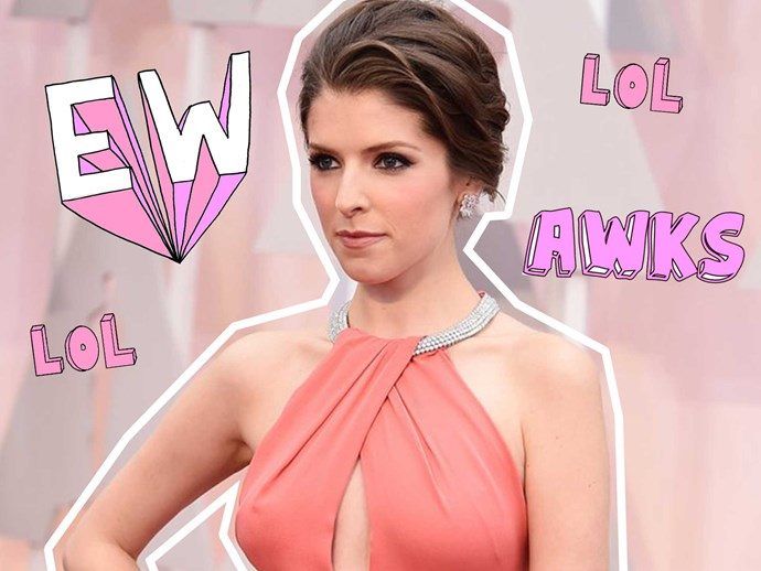 Anna Kendrick reveals which on-screen kiss was creepy