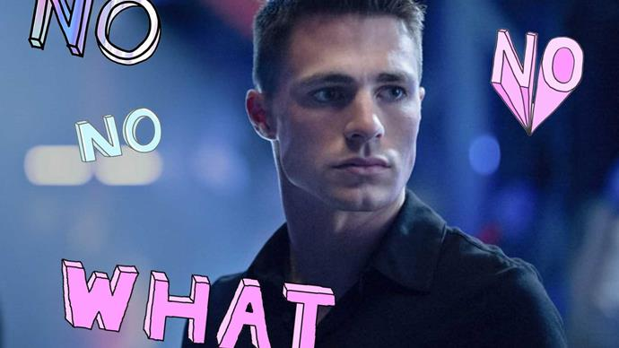 Colton Haynes has been robbed