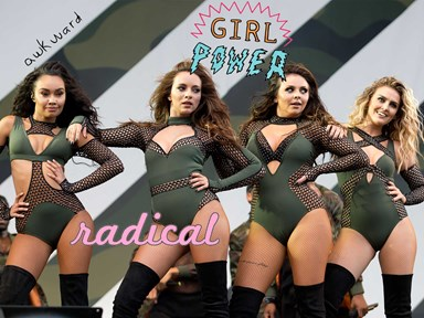 Little Mix have been called 'strippers' for these risqué outfits they wore on stage