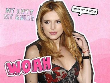 Watch Bella Thorne dance half-naked in Tyler Posey's underwear