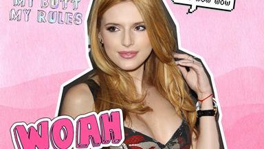 Watch Bella Thorne dance half-naked in Tyler Posey's underwear