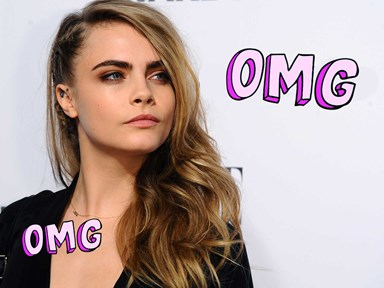 Cara is dating a movie star's ~very~ scandalous ex-girlfriend, and woahhh