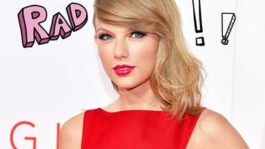 Taylor Swift shows off her music on Instagram