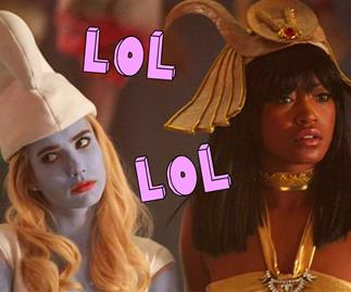 Scream Queens make fun of Swiftmas again in Halloween ep