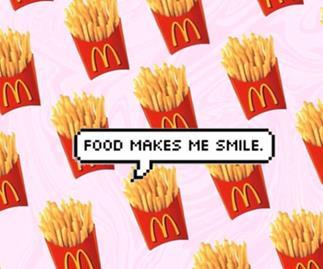 McDonald's purple halloween fries