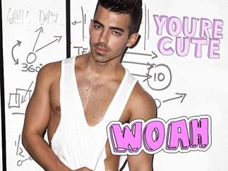 Joe Jonas Notion magazine shoot talks a lot of sex