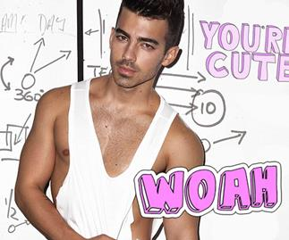 Joe Jonas Notion magazine shoot talks a lot of sex