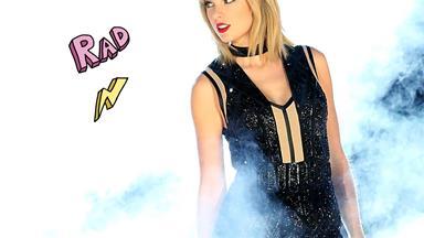Taylor Swift sang a Calvin Harris song at her concert, and shade or no shade?