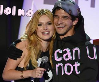 Fan calls out Bella Thorne and Tyler Posey's PDA on Twitter