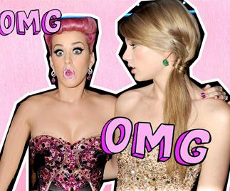 Katy Perry, Taylor Swift and their ex John Mayer hang out