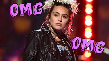 You've got to see this #throwback of Miley Cyrus