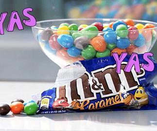 M&MS's announce a caramel flavour