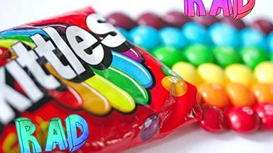 You have to see what happens when you mix boiling water with Skittles