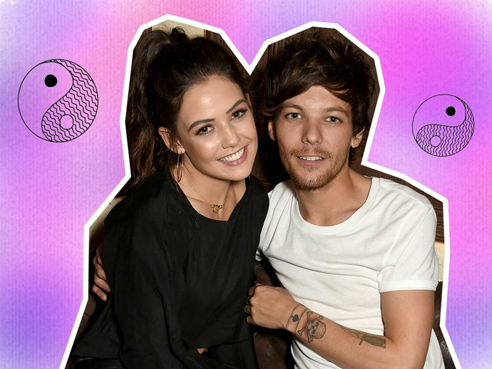 Louis Tomlinson and Danielle Campbell at Lottie Tomlinson's beauty launch