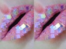 How to get these amazing holographic lips using 3 products