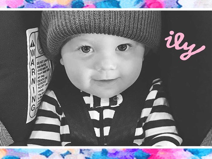 All the baby photos of Freddie Reign Tomlinson