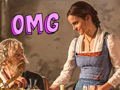 The first official and absolutely STUNNING pics of Emma Watson in Beauty and the Beast have landed