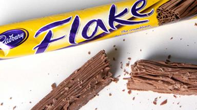 You have to see what happens to a Cadbury Flake when it's microwaved