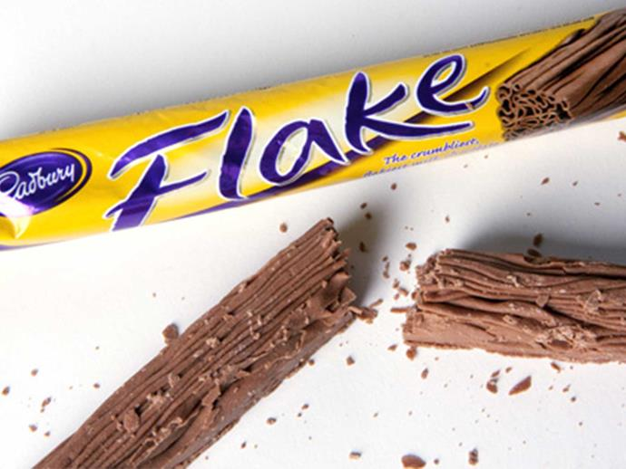 What happens to Cadbury Flake when microwaved