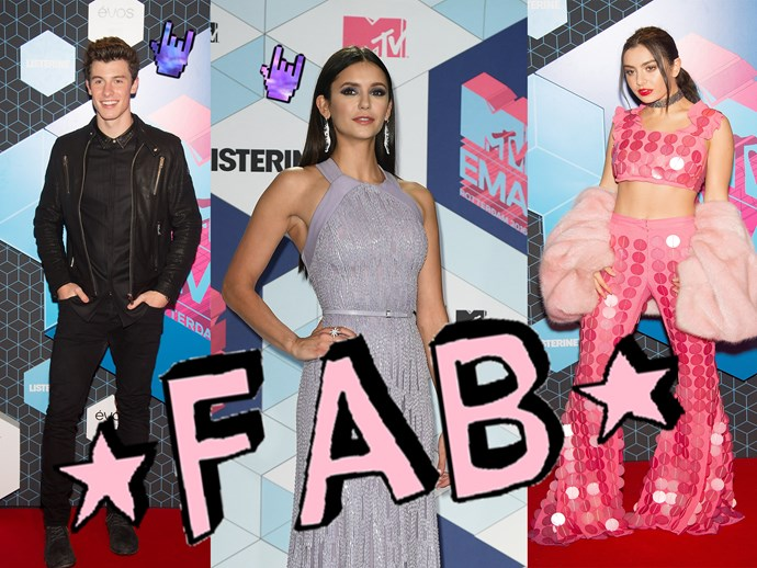 The hottest looks from the 2016 MTV Europe Music Awards!