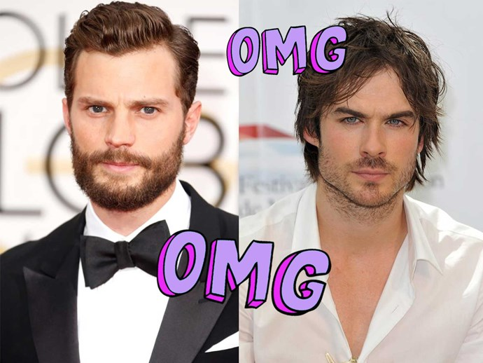 Jamie Dornan talks about Ian Somerhalder possibly replacing him