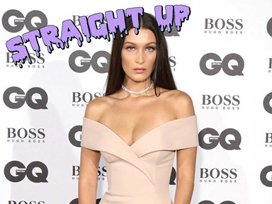 Bella Hadid is actual fire in a sneak preview of her Victoria's Secret parade outfit