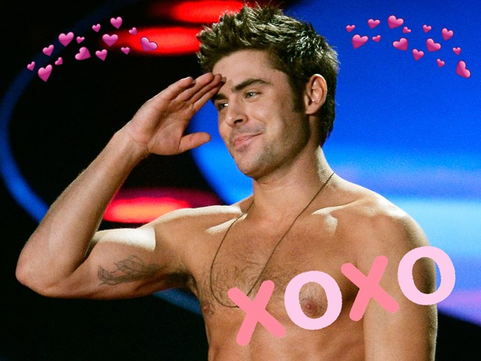 Here's a video of Zac Efron singing the ~steamiest~ 'Happy Birthday' you've ever heard