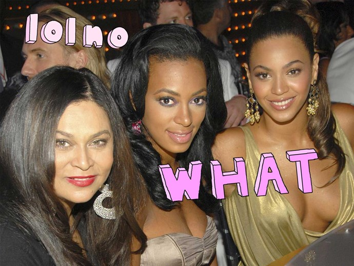 Tina Knowles posts video of Solange kicking Jay Z on social media