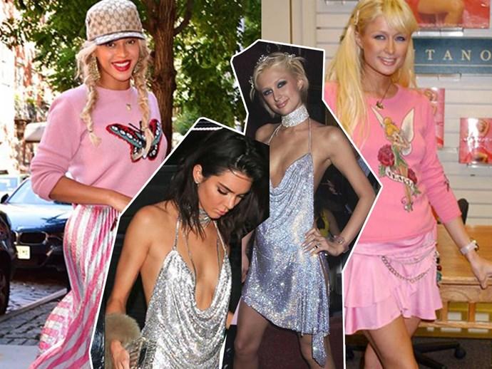 14 times celebrities stole Paris Hilton's look